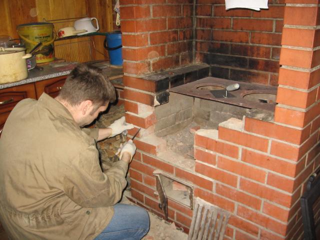 Своими руками ремонт русской печи
